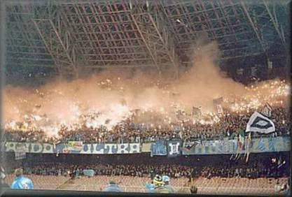 Una veduta dello stadio San Paolo di Napoli