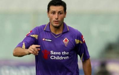 Il terzino della Fiorentina Pasqual