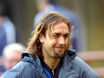 L'ex attaccante di Fiorentina e Roma Gabriel Batistuta