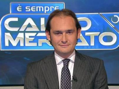 Il giornalista televisivo di Sky Gianluca Di Marzio (Getty Images)