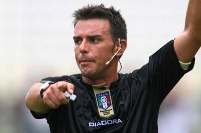 L'arbitro Domenico Celi, un amuleto per la Roma 2011-2012
