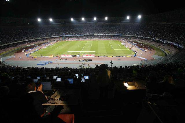 Panoramica stadio San Paolo
