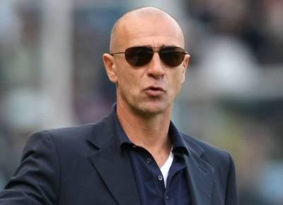 Il tecnico del Genoa Davide Ballardini