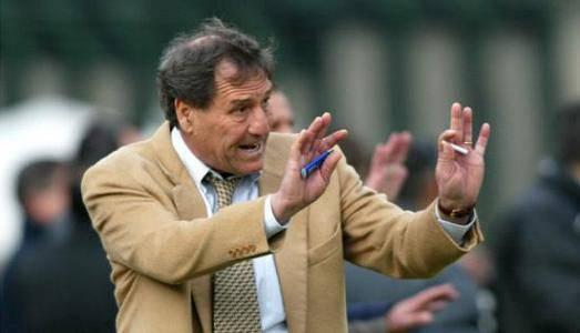 L'allenatore Giovanni Galeone