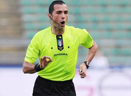 L'arbitro Marco Guida