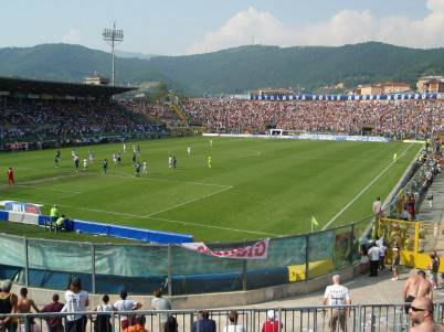 Lo stadio 'Atleti Azzurri d'Italia' di Bergamo