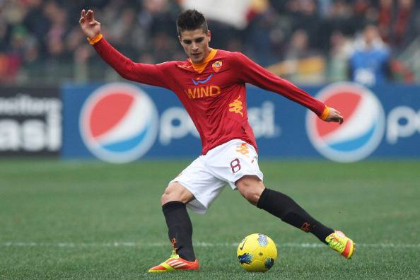 L'attaccante giallorosso Lamela (Getty Images)