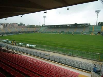Una veduta dall'interno dello Stadio Atleti Azzurri d'Italia di Bergamo
