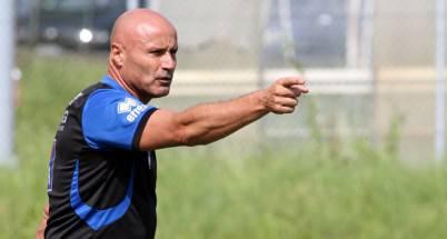L'allenatore neroazzurro Stefano Colantuono