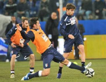Fabio Borini oggi esordiente in Nazionale