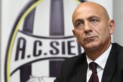 L'ex tecnico del Siena Giuseppe Sannino