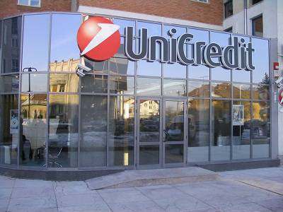 Una filiale del marchio Unicredit