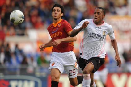 Il difensore giallorosso Burdisso (Getty Images)