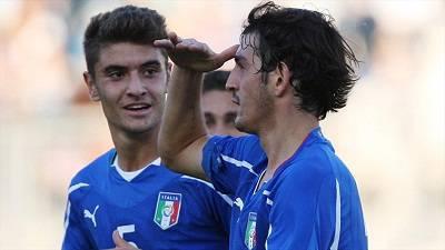 Il numero 5 dell'Italia Under 21 Luca Antei