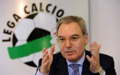 Il Presidente della Lega di Serie A Maurizio Beretta