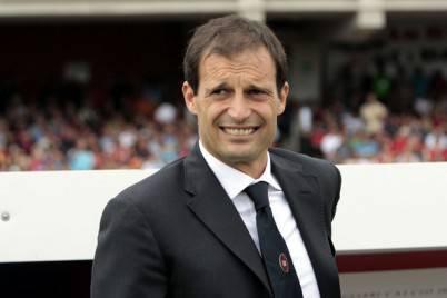 Il tecnico rossonero, Massimiliano Allegri