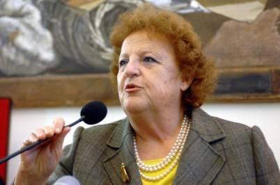 Il ministro dell'Interno, Anna Maria Cancellieri