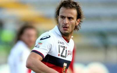 L'attaccante Alberto Gilardino