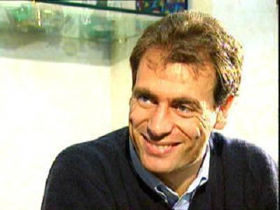 L'ex portiere della Lazio Luca Marchegiani
