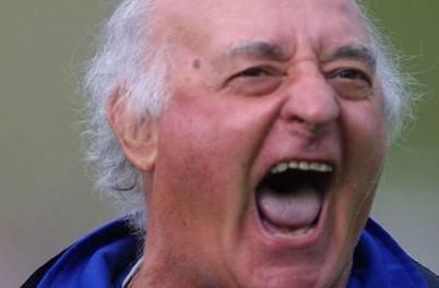 L'ex tecnico giallorosso, Carlo Mazzone