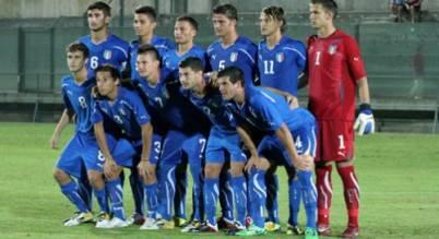 La selezione Under 18 azzurra