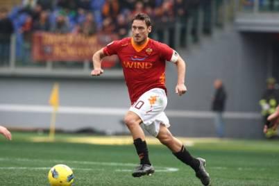 Il capitano della Roma, Francesco Totti (Getty Images)