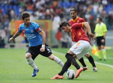 As Roma vs Novara Calcio