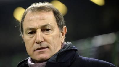 L'allenatore Gianni De Biasi