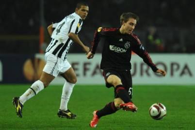 Il centrocampista Christian Eriksen
