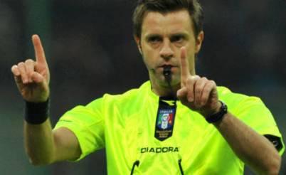 Nicola Rizzoli arbitrerà Roma-Udinese