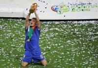 Francesco Totti in maglia azzurra