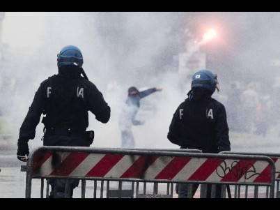 Scontri violenti post Finale Coppa Italia