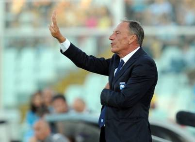 Il tecnico boemo Zdenek Zeman (Getty Images)