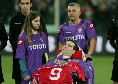 Stefano Borgonovo, uno degli ex calciatori colpiti da Sla
