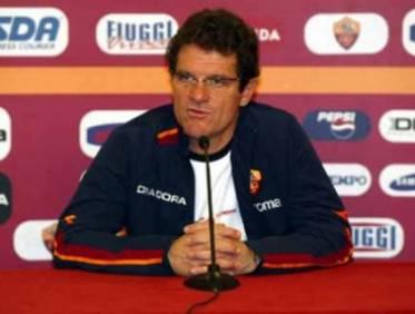Fabio Capello ai tempi della Roma