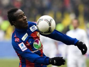 Seydou Doumbia attaccante ivoriano