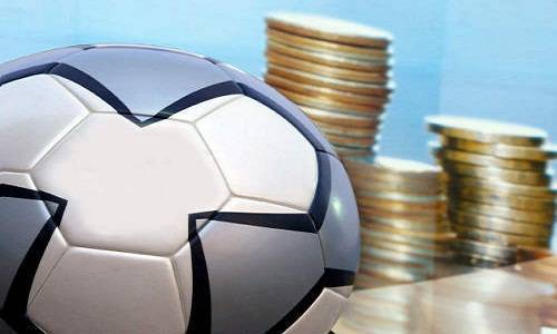 Simbolica calcio e soldi
