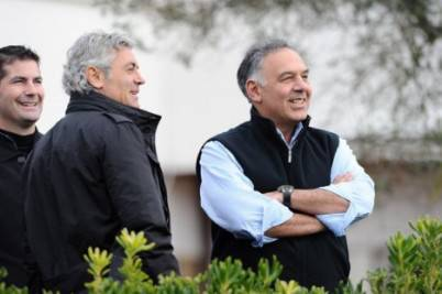 James Pallotta e Franco Baldini (Getty Images)