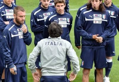 La Nazionale italiana si allena a Coverciano (Getty Images)