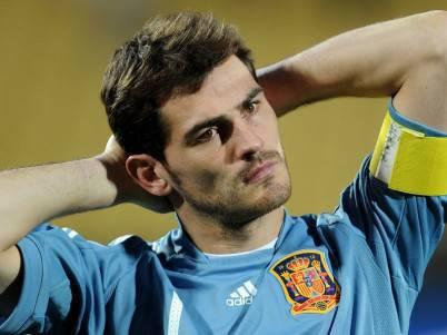 Il portiere spagnolo Iker Casillas