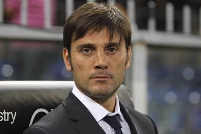 L'ormai ex tecnico del Catania Vincenzo Montella