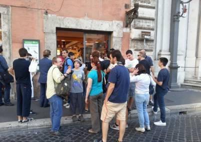 Il Roma Store di Piazza Colonna