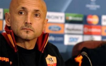 L'ex tecnico giallorosso Luciano Spalletti