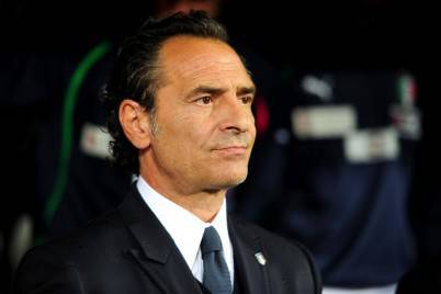 L'allenatore dell'Italia Cesare Prandelli (getty images)