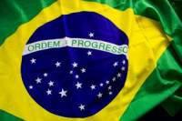 Un'immagine della bandiera brasiliana