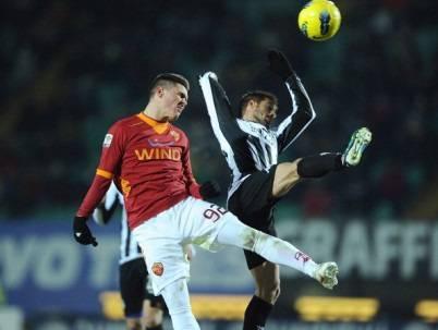 Il giovane centrocampista della Roma Federico Viviani (Getty Images)