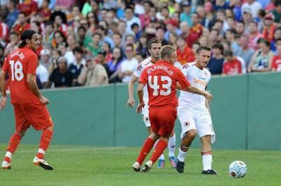 Roma e Liverpool a Boston