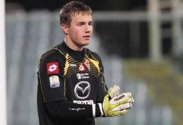 Tomas Svedkauskas con la maglia della Roma