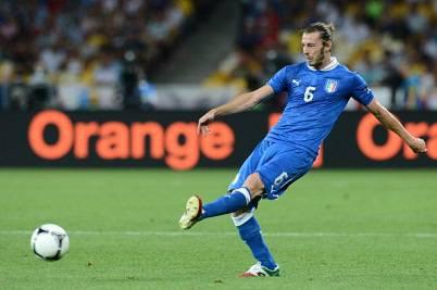 Federico Balzaretti con la maglia della Nazionale Italiana (Getty Images)