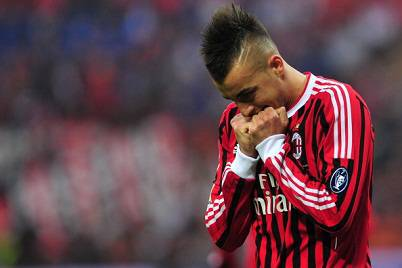 L'attaccante milanista Stephan El Shaarawy (Getty Images)